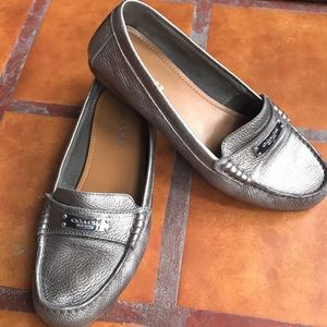 Coach Fredrica Leather Driving shoe EXCELLENT